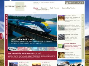 International Rail website
