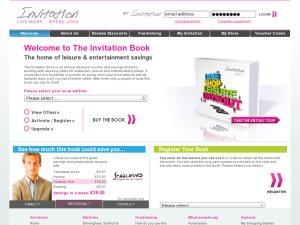 Invitation Book website