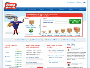 ipostparcels website