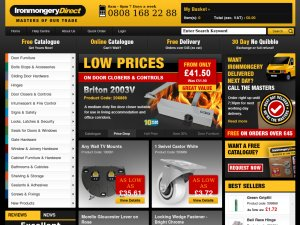 Ironmongery Direct website