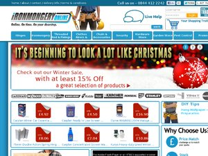 Ironmongery Online website