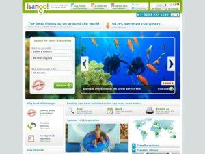 Isango website