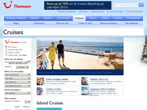 Island Cruises website