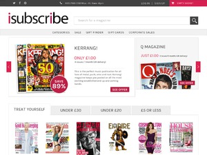 iSubscribe website