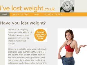 I've Lost Weight website