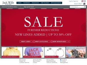 Jack Wills website