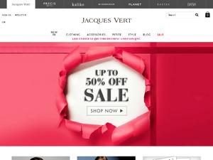 Jacques Vert website