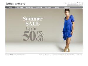 James Lakeland website