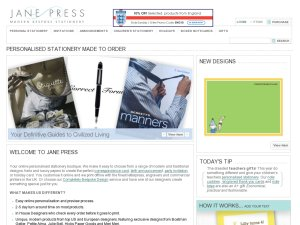 Jane Press website