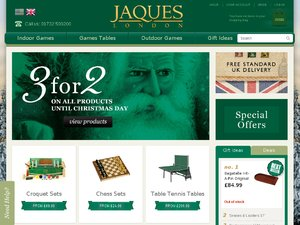 Jaques Of London website