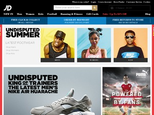 JD Sports Discount Voucher Codes 2014 for www.jdsports.co.uk