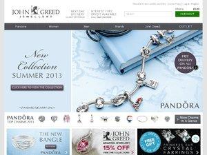 John Greed jewellery website