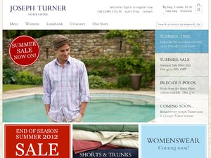 Joseph Turner website