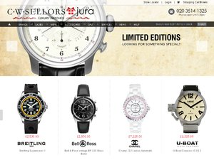 Jura Watches website