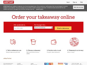 Just-eat.co.uk website