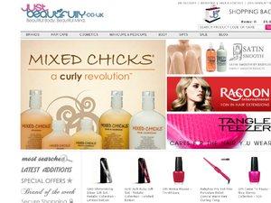Just Beautifully website