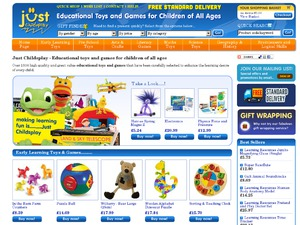 Just Childs Play website