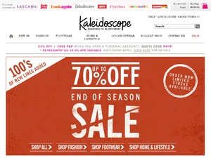 Kaleidoscope website