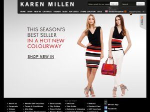 Karen Millen website