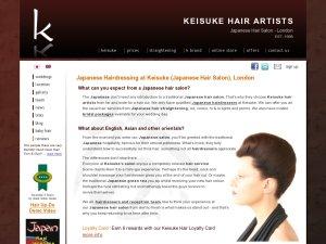 Keisuke website