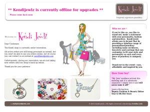 Kendi Jewlz website