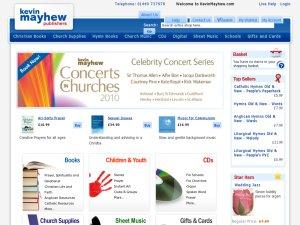 Kevin Mayhew website
