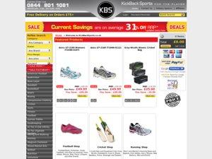 KickBack Sports website