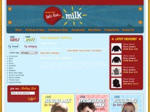 Kidslovemilk website
