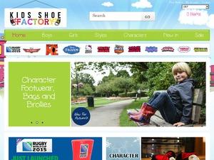 Kids Shoe Factory website
