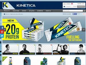 Kinetica Sports website