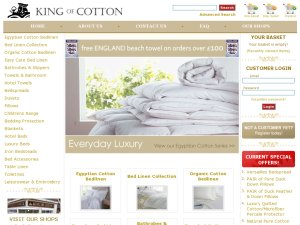 King of Cotton website
