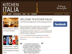 Kitchen Italia website