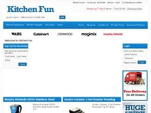 Kitchen Fun website