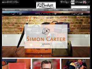 KJ Beckett website