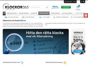Klockor365 website