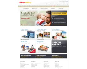 Kodak EasyShare Gallery website