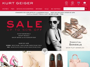 Kurt Geiger website