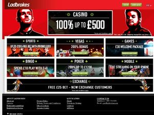 Ladbrokes Casino website