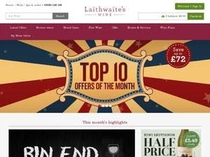 Laithwaites website