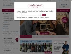 Direct Wines website
