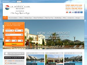 La Manga Club Resort website