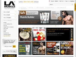 LA Muscle website