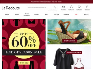 La Redoute website