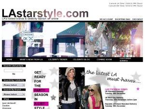 LA Star Style website