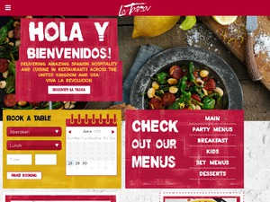 La Tasca website