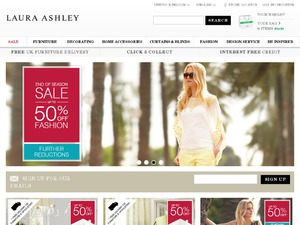Laura Ashley website