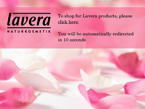 Lavera Skin Care website