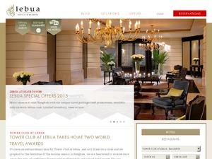 Lebua Hotels US & CA website