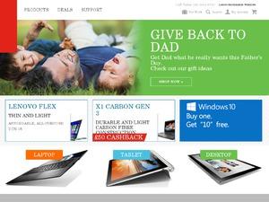 Lenovo UK website