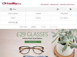 Lensway website